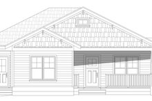 Country Exterior - Front Elevation Plan #932-120