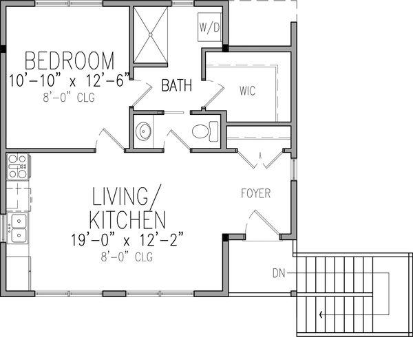 Home Plan - Victorian Floor Plan - Upper Floor Plan #410-3611