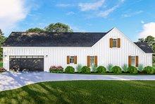 House Plan Design - Farmhouse Exterior - Other Elevation Plan #406-9667