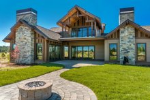 Home Plan - Traditional Exterior - Rear Elevation Plan #895-59
