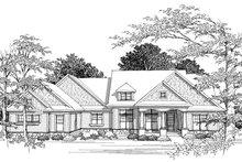 Dream House Plan - Ranch Photo Plan #70-1036