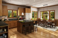 House Plan Design - Craftsman Interior - Kitchen Plan #942-52