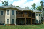 Southern Style House Plan - 3 Beds 3.5 Baths 2461 Sq/Ft Plan #56-241 Exterior - Rear Elevation