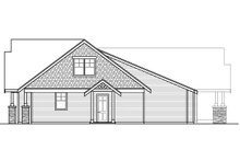 House Plan Design - Craftsman Exterior - Other Elevation Plan #124-1014