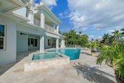 Mediterranean Style House Plan - 4 Beds 4.5 Baths 4513 Sq/Ft Plan #548-14 Exterior - Rear Elevation