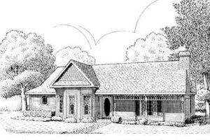Victorian Exterior - Front Elevation Plan #410-335