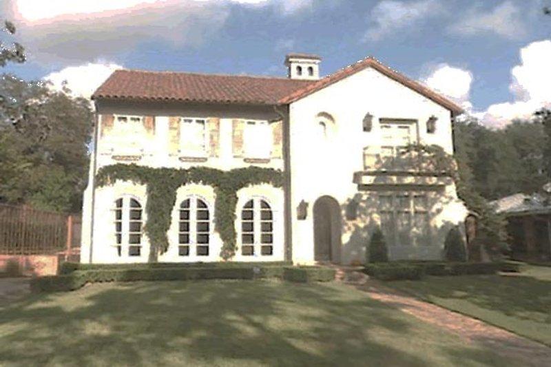 Mediterranean Style House Plan - 4 Beds 4.5 Baths 4839 Sq/Ft Plan #20-2150 Photo