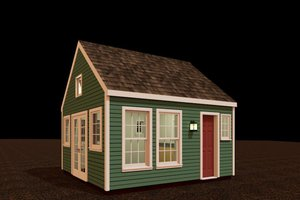 Colonial Exterior - Front Elevation Plan #917-26
