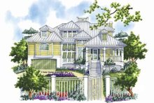 Country Exterior - Front Elevation Plan #930-111