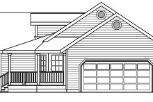 House Design - Traditional Exterior - Other Elevation Plan #124-480
