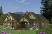 Craftsman Style House Plan - 3 Beds 3 Baths 1858 Sq/Ft Plan #51-523