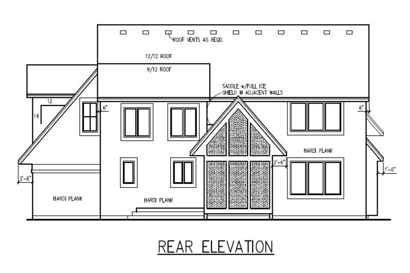 Traditional Photo Plan #56-598 - Houseplans.com