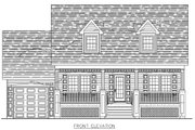 Cottage Style House Plan - 3 Beds 2.5 Baths 1565 Sq/Ft Plan #138-297 Exterior - Other Elevation