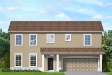 House Blueprint - Traditional Exterior - Front Elevation Plan #1058-201