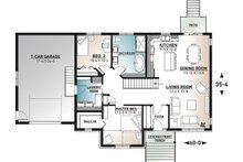Country Floor Plan - Main Floor Plan Plan #23-2721
