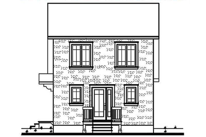 Farmhouse Exterior - Rear Elevation Plan #23-2094 - Houseplans.com