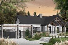 Home Plan - Ranch Exterior - Front Elevation Plan #23-2649