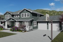 Craftsman Exterior - Other Elevation Plan #1060-55