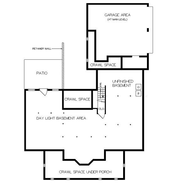 Farmhouse Floor Plan - Other Floor Plan Plan #45-140