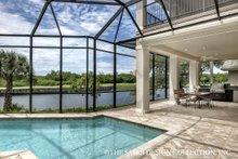 Dream House Plan - European Exterior - Outdoor Living Plan #930-486