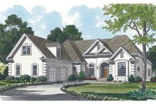 Dream House Plan - Traditional Exterior - Front Elevation Plan #453-31