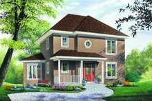 Dream House Plan - Traditional Exterior - Other Elevation Plan #23-340