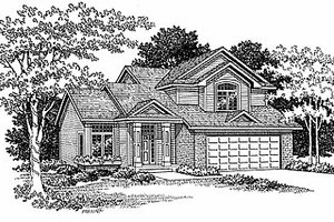 Traditional Exterior - Front Elevation Plan #70-146