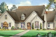Traditional Style House Plan - 5 Beds 4.5 Baths 4921 Sq/Ft Plan #490-21 Exterior - Front Elevation