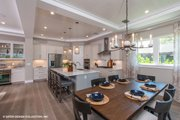 Modern Style House Plan - 4 Beds 4.5 Baths 3726 Sq/Ft Plan #930-519 Interior - Kitchen