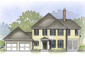 Farmhouse Exterior - Front Elevation Plan #901-92