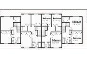 Traditional Style House Plan - 3 Beds 1.5 Baths 1203 Sq/Ft Plan #303-474 Floor Plan - Upper Floor Plan