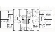 Traditional Floor Plan - Upper Floor Plan Plan #303-474