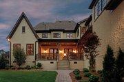 European Style House Plan - 5 Beds 5.5 Baths 5448 Sq/Ft Plan #453-25 Exterior - Rear Elevation