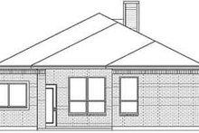 Traditional Exterior - Rear Elevation Plan #84-201