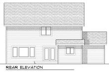Home Plan - Craftsman Exterior - Rear Elevation Plan #70-952
