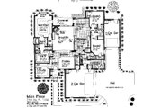 Traditional Style House Plan - 3 Beds 2.5 Baths 2391 Sq/Ft Plan #310-677 Floor Plan - Main Floor