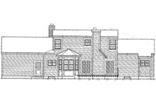 Dream House Plan - Country Exterior - Rear Elevation Plan #3-296