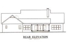 House Plan Design - Southern Exterior - Rear Elevation Plan #44-111