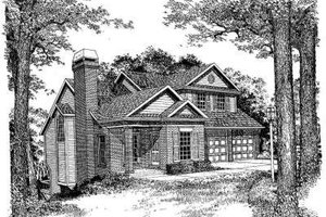 Traditional Exterior - Front Elevation Plan #322-106