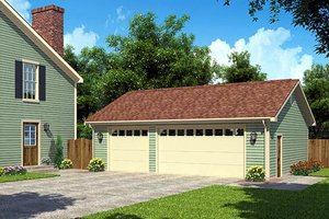 Traditional Exterior - Front Elevation Plan #312-874