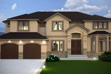 House Design - Contemporary Exterior - Front Elevation Plan #1066-16