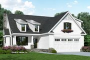 Cottage Style House Plan - 3 Beds 2 Baths 1839 Sq/Ft Plan #929-1093 Exterior - Front Elevation