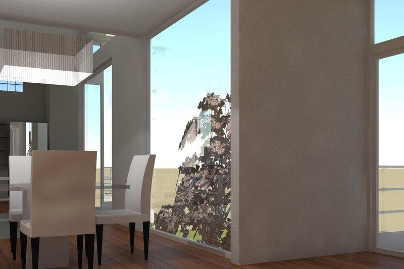 Modern Interior - Dining Room Plan #64-219 - Houseplans.com