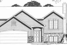 Architectural House Design - Traditional Exterior - Front Elevation Plan #58-157