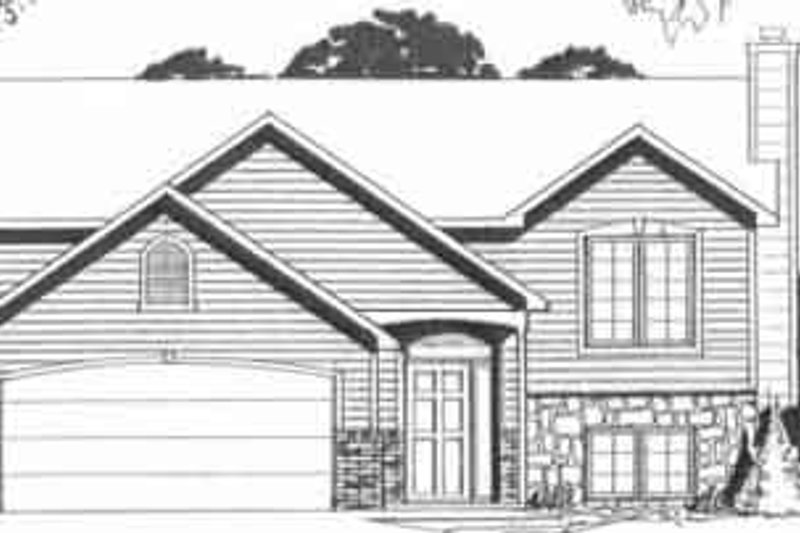 Dream House Plan - Traditional Exterior - Front Elevation Plan #58-157