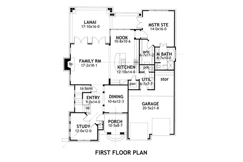 traditional house plan by David Wiggins 2100sft