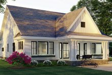 Home Plan - Farmhouse Exterior - Rear Elevation Plan #51-1167