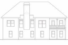 Home Plan - Craftsman Exterior - Rear Elevation Plan #419-109