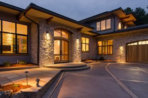 Contemporary Exterior - Front Elevation Plan #1042-21