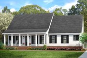 Cottage Style House Plan - 3 Beds 2 Baths 1599 Sq/Ft Plan #406-9662